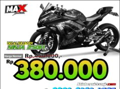 decal NINJA 250FI maxgraphica cutting sticker sidoarjo